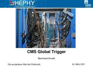 CMS Global Trigger