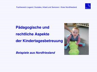 Pädagogische und rechtliche Aspekte  der Kindertagesbetreuung Beispiele aus Nordfriesland