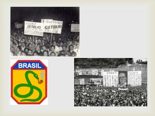 """Populismo e  """"Redemocratização""""  (1945-1964)"""