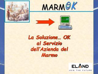 La Soluzione… OK al Servizio dell'Azienda del Marmo