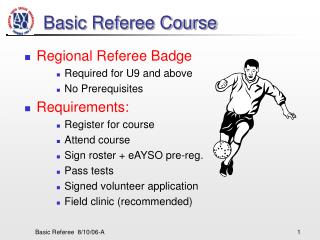 Basic Referee Course