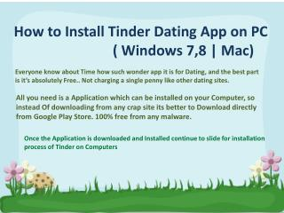 tinder app download for computer