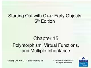 Starting Out with C: Early Objects 5th Edition