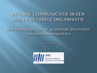 Inhoud  Diversiteit en diversiteitsmanagement  De praktijk bij de NMBS-Groep