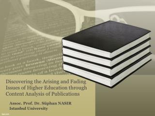 Assoc. Prof. Dr. Süphan NASIR Istanbul University