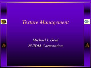 Texture Management