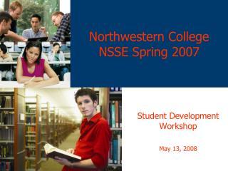 Northwestern College NSSE Spring 2007