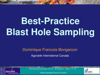 Best-Practice Blast Hole Sampling