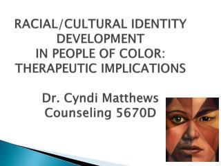 Racial Ethnic Identity Development 61