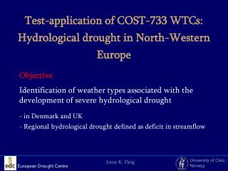 European Drought Centre