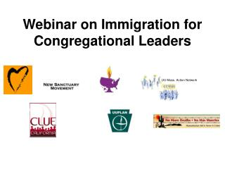 Webinar on Immigration for Congregational Leaders