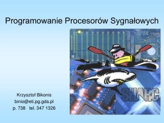 Programowanie Procesorów Sygnałowych