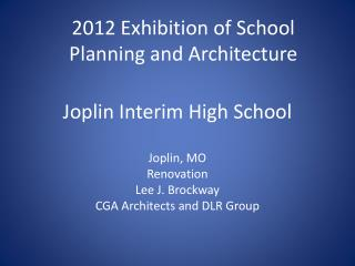 Joplin Interim High School