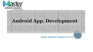 Android App Development - MSS