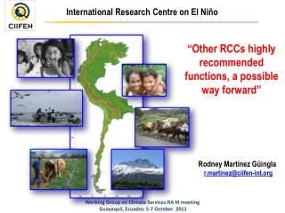 """Other RCCs highly recommended functions, a possible  way forward """