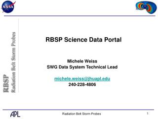 RBSP Science Data Portal