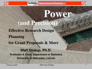 (and Precision) Effective Research Design  Planning for Grant Proposals & More