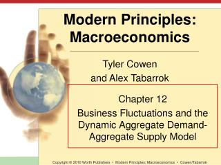 Chapter 12 Business Fluctuations and the Dynamic Aggregate Demand-Aggregate Supply Model