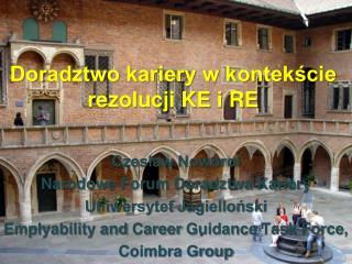 Doradztwo kariery w kontekście rezolucji KE i RE