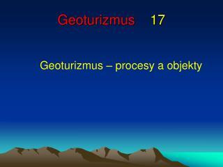 Geoturizmus 17