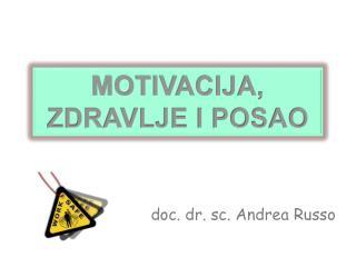 doc . dr.  sc . Andrea Russo