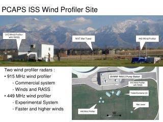 PCAPS ISS Wind Profiler Site