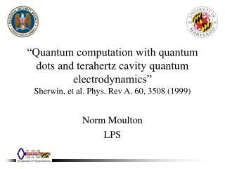 Norm Moulton LPS