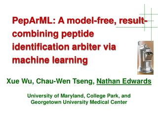 PepArML: A model-free, result-combining peptide identification arbiter via machine learning