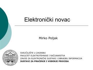 Elektronički novac