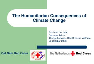 The Humanitarian Consequences of Climate Change