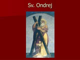 Sv. Ondrej