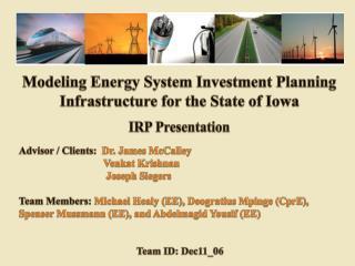 IRP Presentation