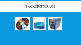 Backup/Storage