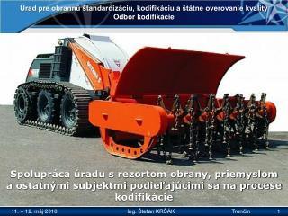 Úrad pre obrannú štandardizáciu, kodifikáciu a štátne overovanie kvality Odbor kodifikácie