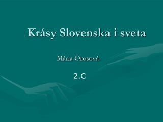 Krásy Slovenska i sveta