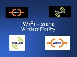 WiFi - siete