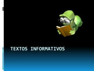 Textos Informativos