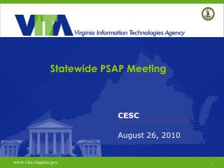 Statewide PSAP Meeting