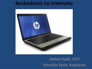 Bezbednost n a  Internetu