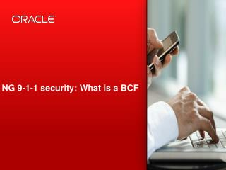 NG 9-1-1 security: What is a BCF