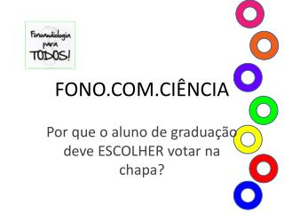 FONO.COM.CI�NCIA