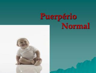 Puerpério Normal