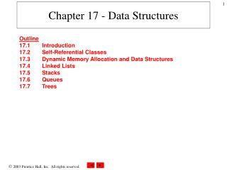 Chapter 17 - Data Structures