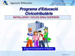 Programa d'Educació  Civicotributària