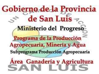 Gobierno de la Provincia  de San Luis