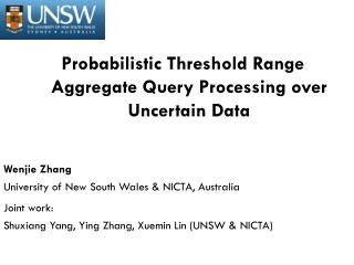 Probabilistic Threshold Range Aggregate Query Processing over Uncertain Data