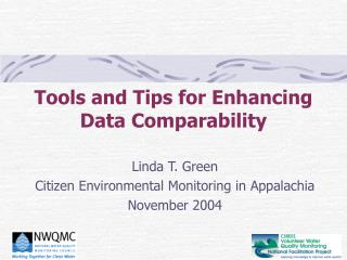 Tools and Tips for Enhancing Data Comparability