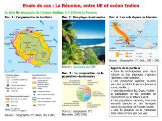 A. Une île tropicale de l'océan Indien, à 9 300 de la France