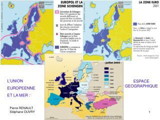 L'UNION EUROPEENNE ET LA MER :