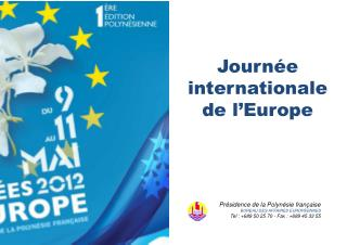 Journée internationale de l'Europe